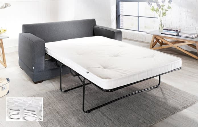 photo of Jay-Be folding bed manufactured in Dewsbury