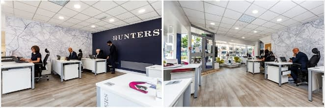 photo of Hunters offices in Dewsbury