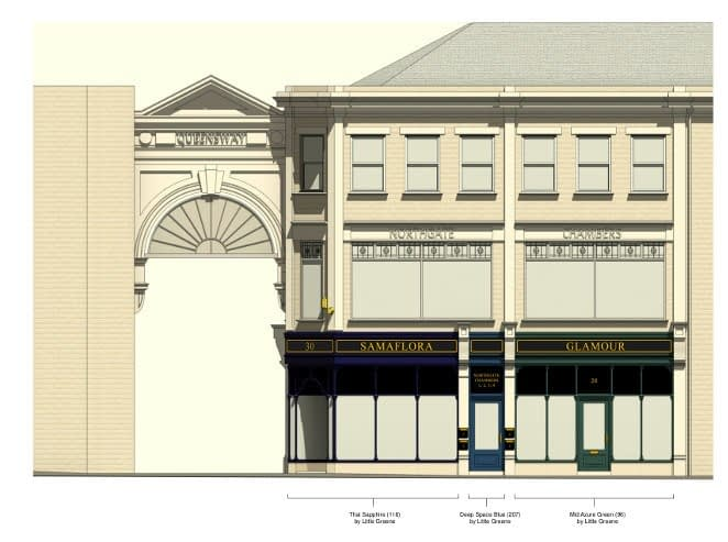 plans for 28-30 Northgate in Dewsbury
