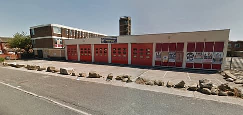 photo of The old Fire Station in Huddersfield Road, Dewsbury