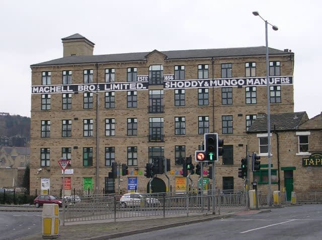 photo of Machell Bros Mungo and Shoddy Mill in Dewsbury