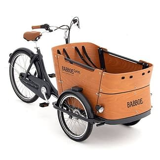 photo of cargo bike