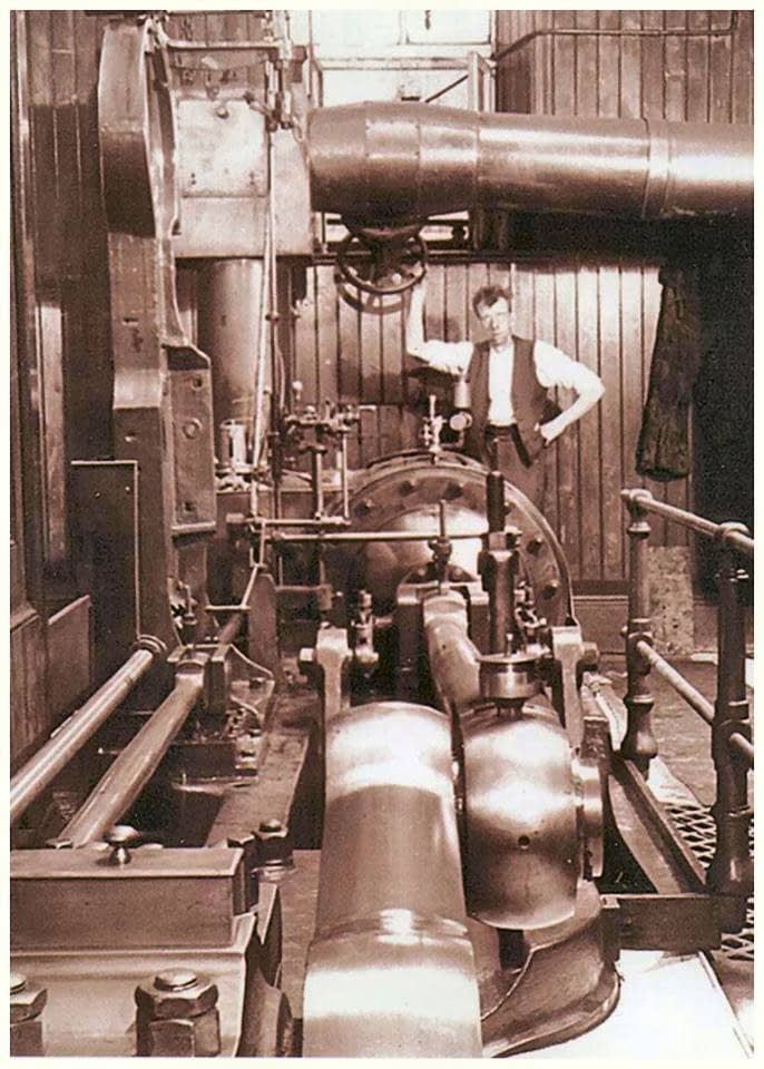 photo of a mill engine