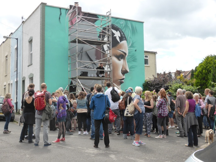 photo of Quality street art from Upfest
