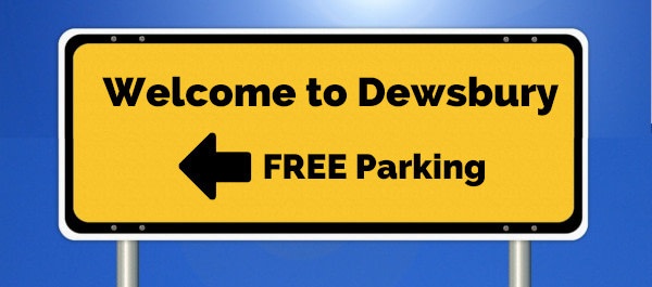picture of Welcome to Dewsbury roadsign