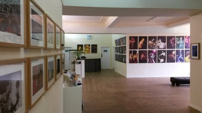 photo of the exhibition space at Creative Arts Hub, Mirfield