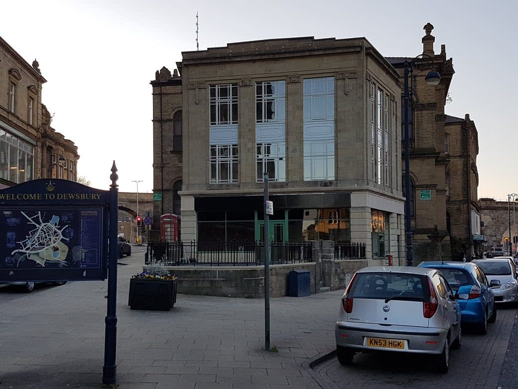 Photo of the refurbished Old Gas Showrooms in Northgate, Dewsbury