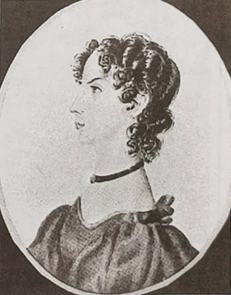 drawing of Anne Bronte