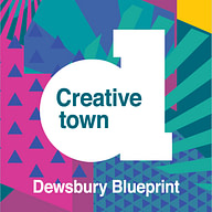 logo for the Dewsbury Creative Town project