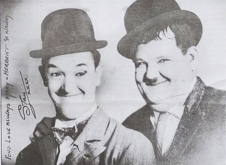 photo of Laurel and Hardy