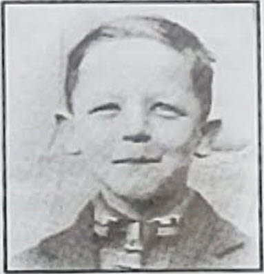 photo of Marcus Fox as a young boy