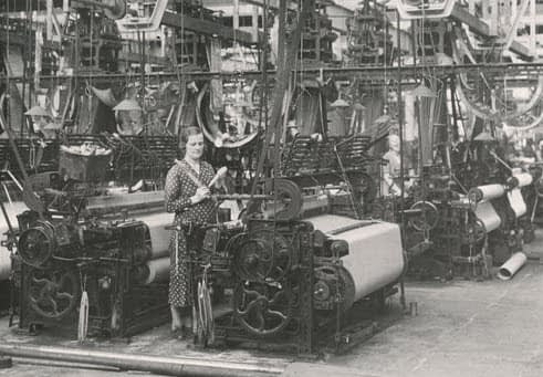 Yorkshire woollen mill